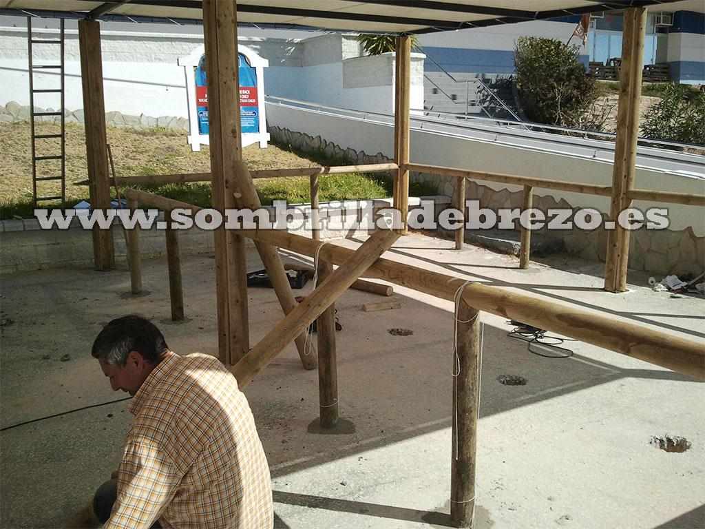 Instalacion de Estruct. Madera